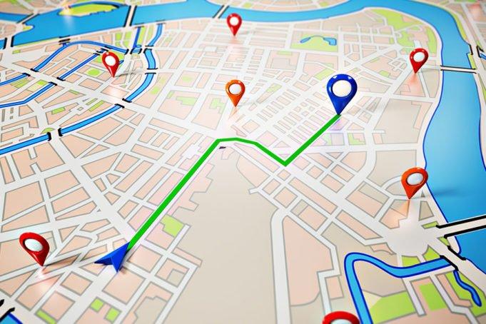 App ou GPS intégré
